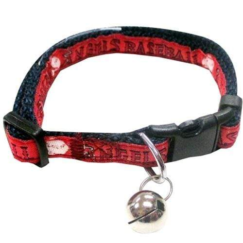Pets First Dog-products MLB Los Angeles Angels Breakaway Cat Collar