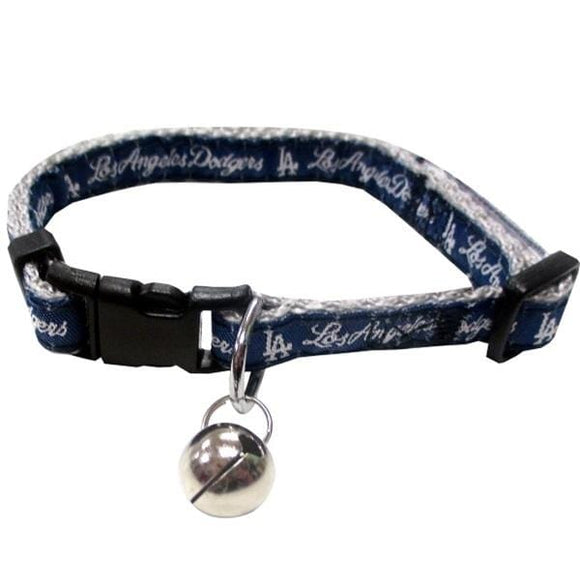 Pets First Dog-products MLB Los Angeles Dodgers Breakaway Cat Collar
