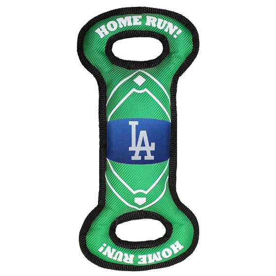 Pets First Dog-products MLB Los Angeles Dodgers Field Pull Pet Toy