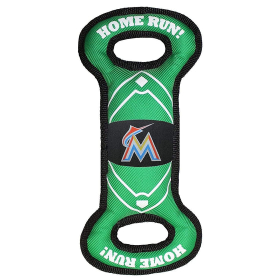 Pets First Dog-products MLB Miami Marlins Field Pull Pet Toy