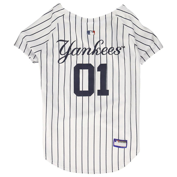 Pets First Dog-products MLB XXL New York Yankees Pet Jersey