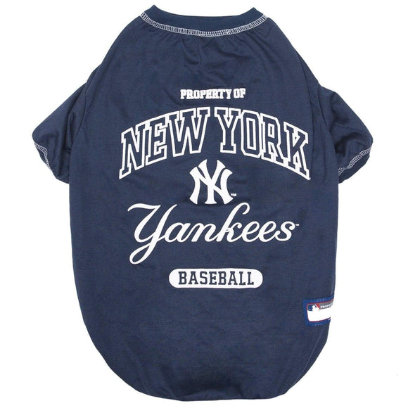 Pets First Dog-products MLB XL New York Yankees Pet T
