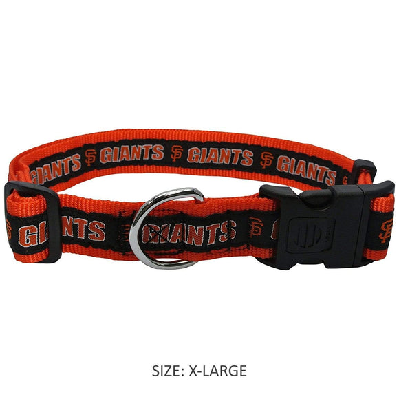 Pets First Dog-products MLB XL San Francisco Giants Pet Collar By Pets First