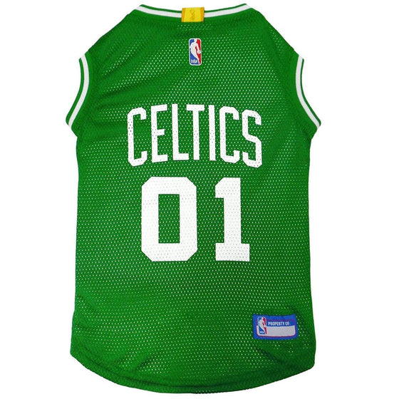 Pets First Dog-products NBA Boston Celtics Pet Jersey - Large