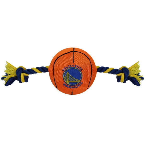 Pets First Dog-products NBA Golden State Warriors Pet Nylon Basketball