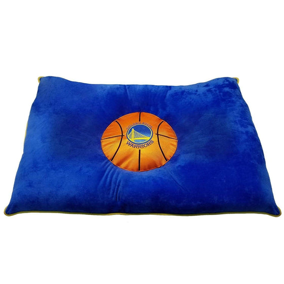 Pets First Dog-products NBA Golden State Warriors Pet Pillow Bed