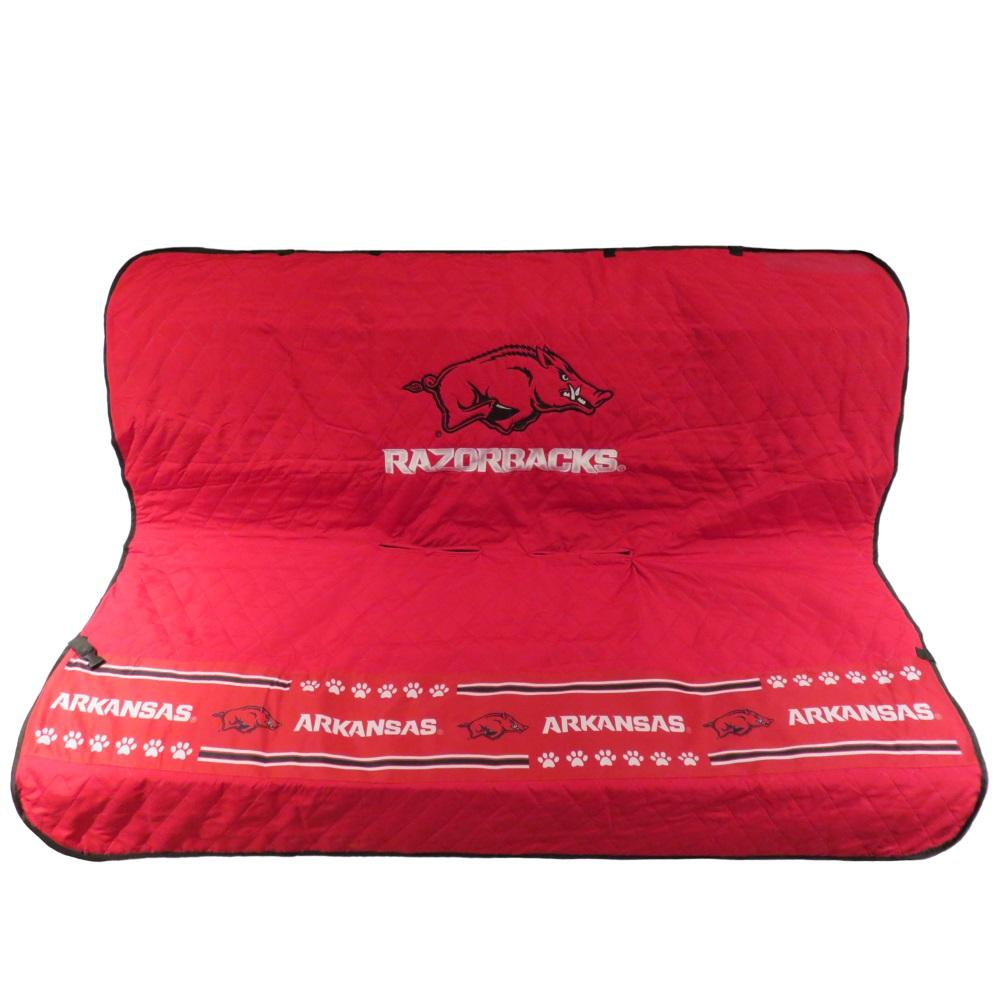 Pets First Dog-products NCAA Arkansas Razorbacks Pet Car Seat Cover