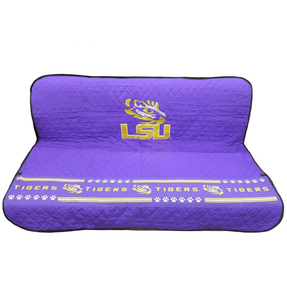 Pets First Dog-products NCAA Lsu Tigers Pet Car Seat Cover