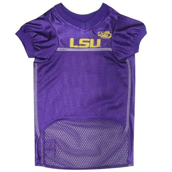 Pets First Dog-products NCAA XS Lsu Tigers Pet Jersey
