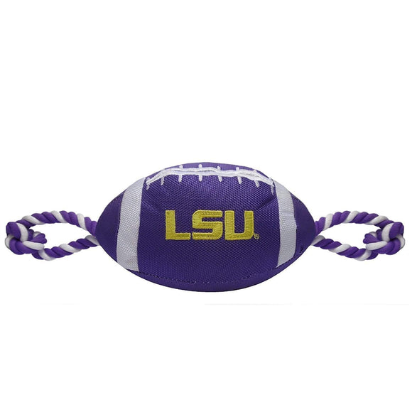 Pets First Dog-products NCAA Lsu Tigers Pet Nylon Football