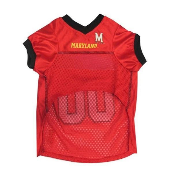 Pets First Dog-products NCAA Large Maryland Terrapins  Pet Jersey