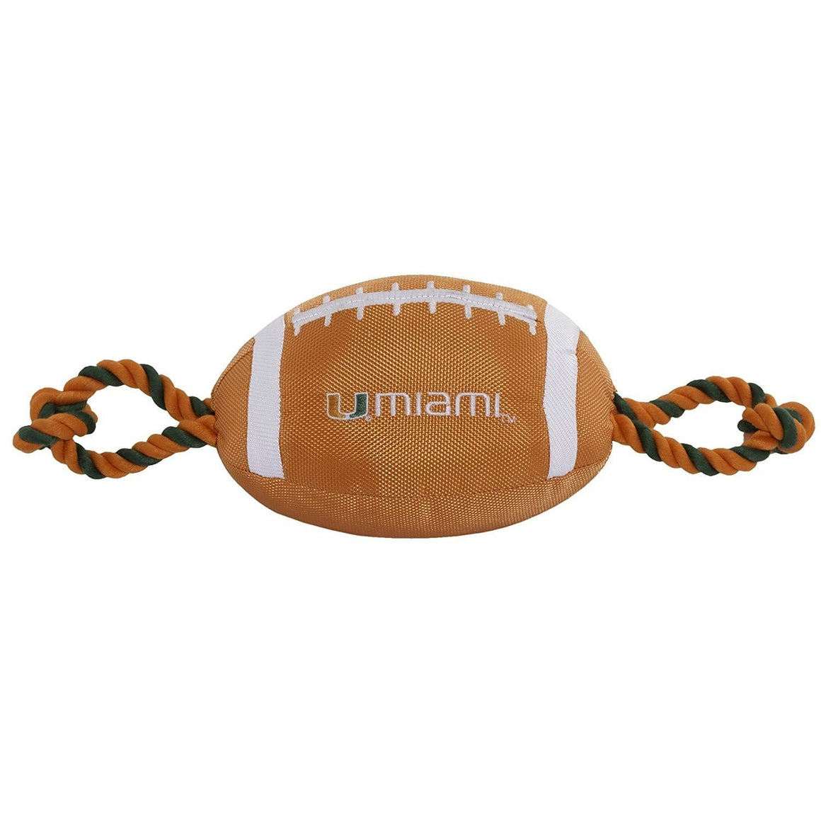 Pets First Dog-products NCAA Miami Hurricanes Pet Nylon Football