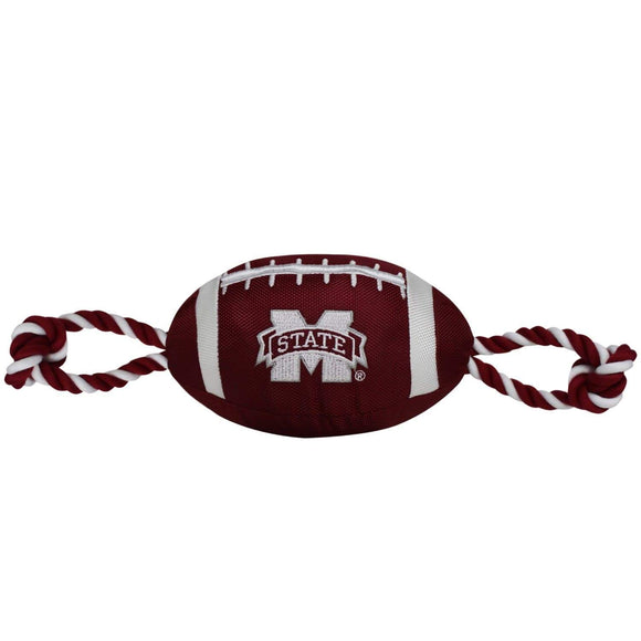 Pets First Dog-products NCAA Mississippi State Bulldogs Pet Nylon Football