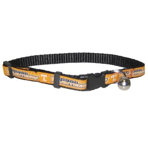 Pets First Dog-products NCAA Tennessee Volunteers Breakaway Cat Collar