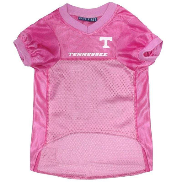 Pets First Dog-products NCAA Large Tennessee Volunteers Pink Pet Jersey