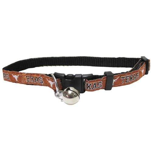 Pets First Dog-products NCAA Texas Longhorns Breakaway Cat Collar