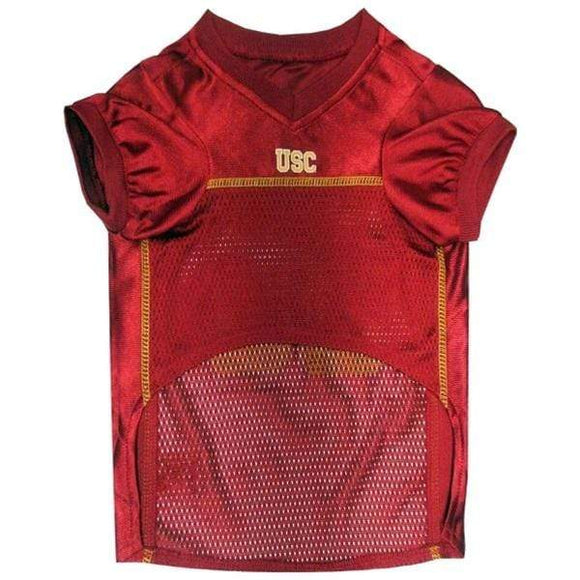 Pets First Dog-products NCAA Large Usc Trojans Pet Jersey