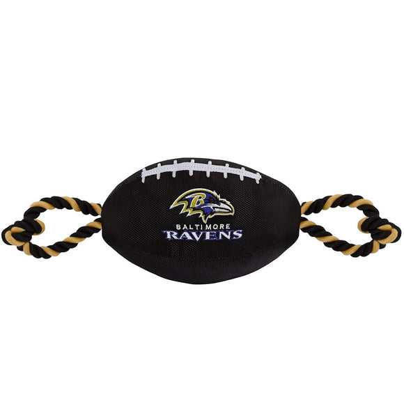 Pets First Dog-products NFL Baltimore Ravens Pet Nylon Football
