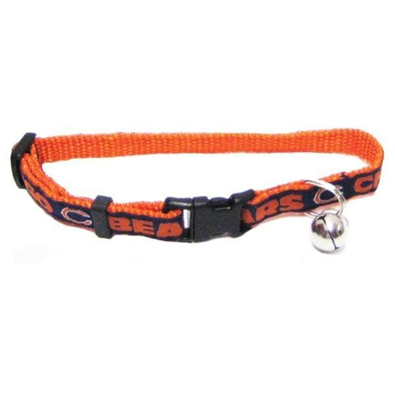 Pets First Dog-products NFL Chicago Bears Breakaway Cat Collar