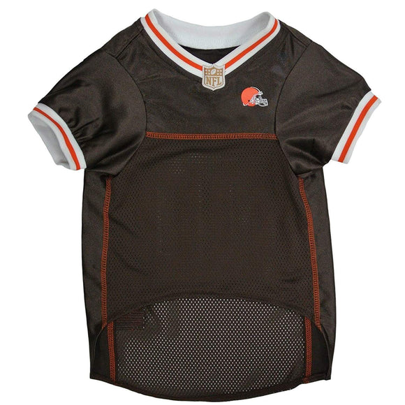 Pets First Dog-products NFL Large Cleveland Browns Dog Jersey