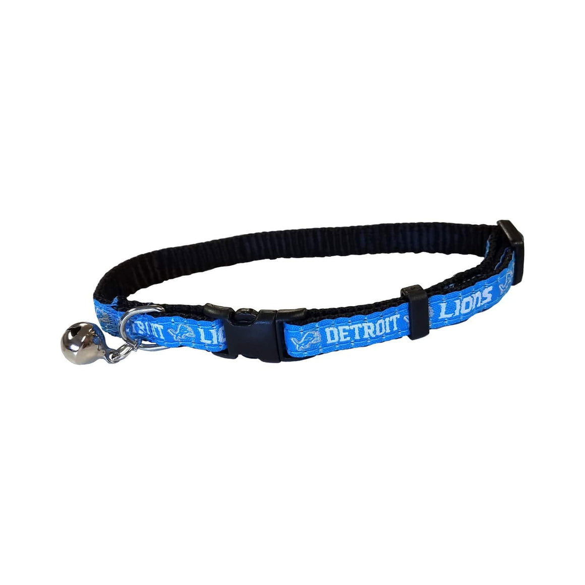 Pets First Dog-products NFL Detroit Lions Breakaway Cat Collar