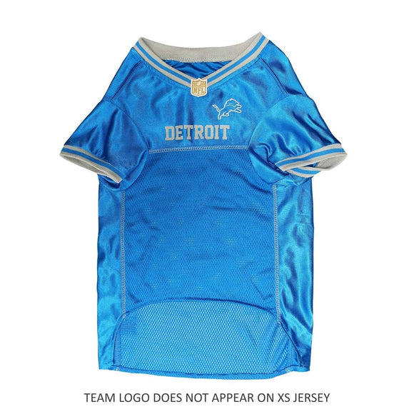 Pets First Dog-products NFL XS Detroit Lions Dog Jersey