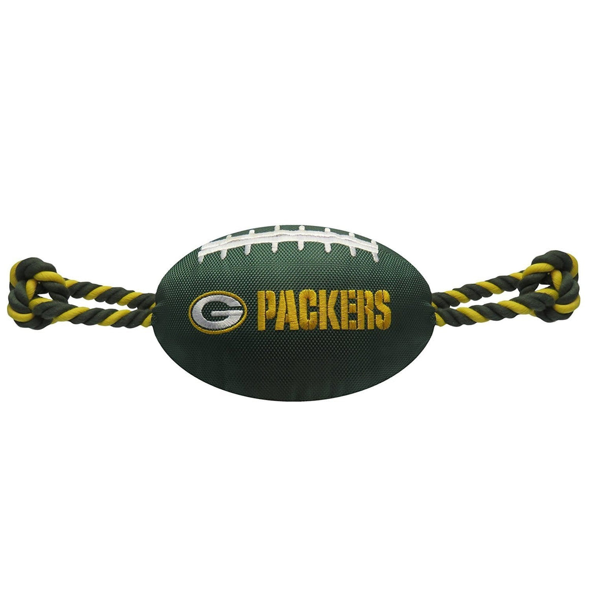 Pets First Dog-products NFL Green Bay Packers Pet Nylon Football