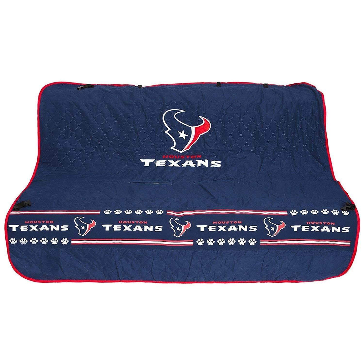 Pets First Dog-products NFL Houston Texans Pet Car Seat Cover