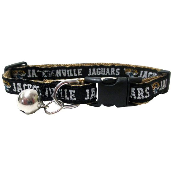 Pets First Dog-products NFL Jacksonville Jaguars Breakaway Cat Collar