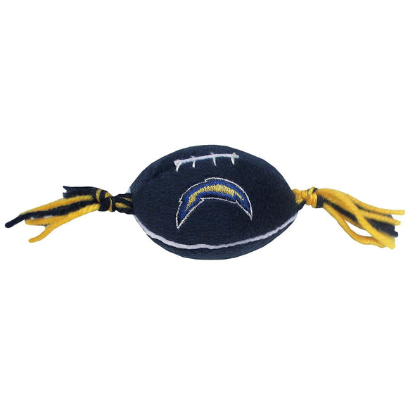 Pets First Dog-products NFL Los Angeles Chargers Catnip Toy