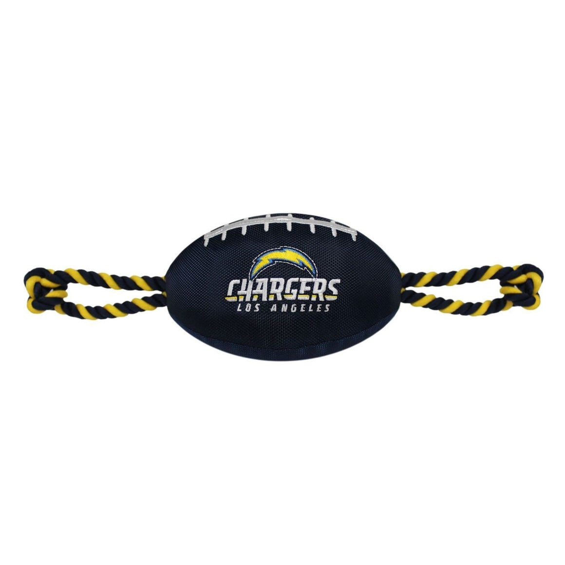 Pets First Dog-products NFL Los Angeles Chargers Pet Nylon Football