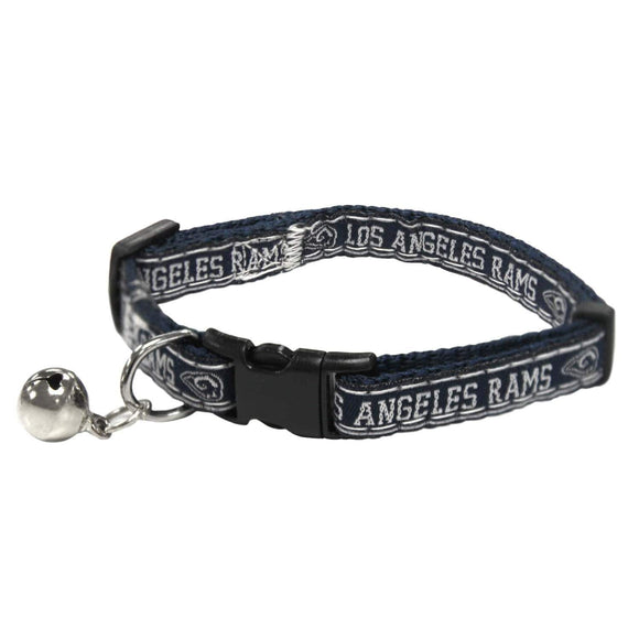 Pets First Dog-products NFL Los Angeles Rams Breakaway Cat Collar