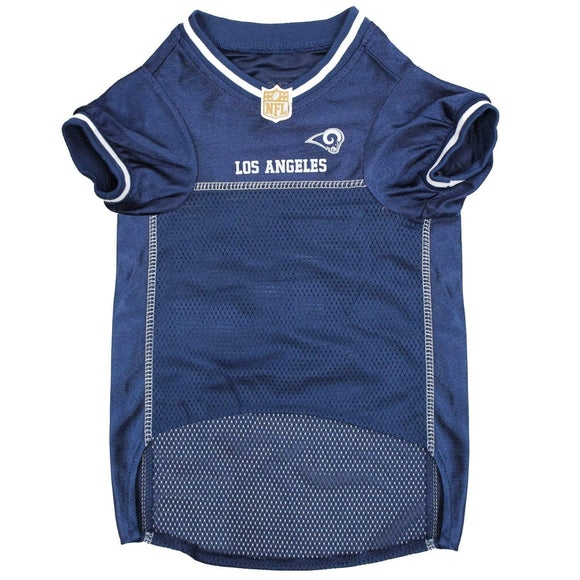 Pets First Dog-products NFL XL Los Angeles Rams Pet Jersey