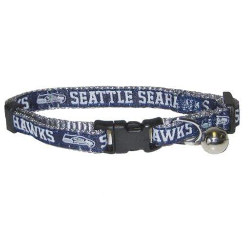 Pets First Dog-products NFL Seattle Seahawks Breakaway Cat Collar