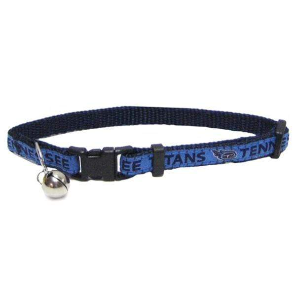 Pets First Dog-products NFL Tennessee Titans Breakaway Cat Collar