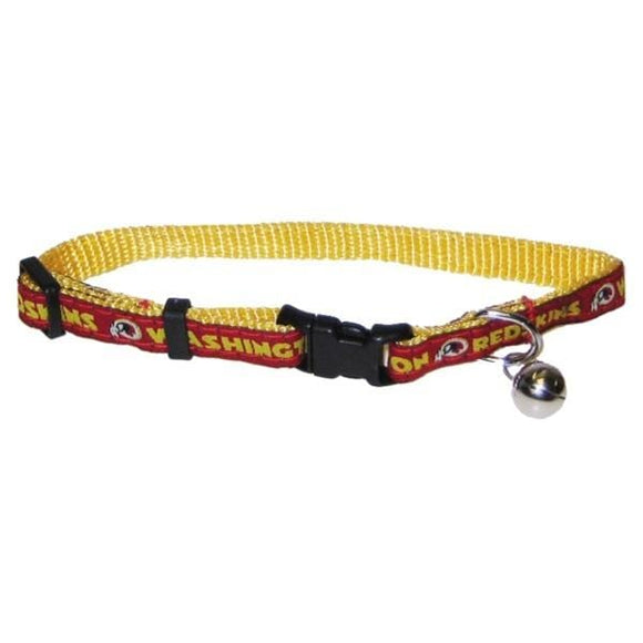 Pets First Dog-products NFL Washington Redskins Breakaway Cat Collar
