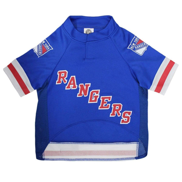 Pets First Dog-products NHL XS New York Rangers Pet Jersey