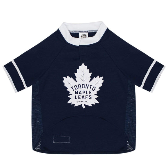 Pets First Dog-products NHL Small Toronto Maple Leafs Pet Jersey