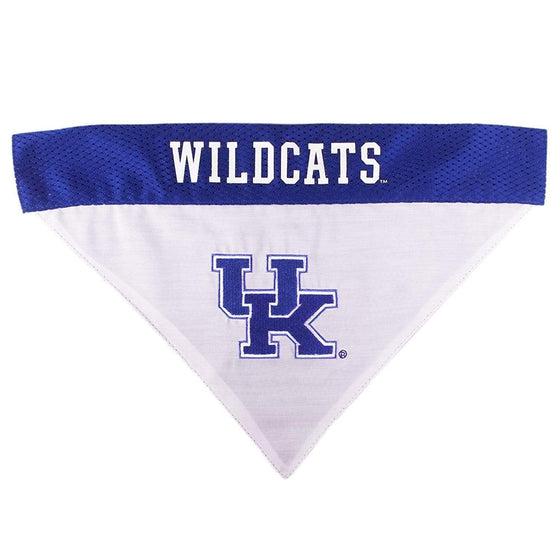 Pets First Dog-products NCAA L/XL Kentucky Wildcats Pet Reversible Bandana