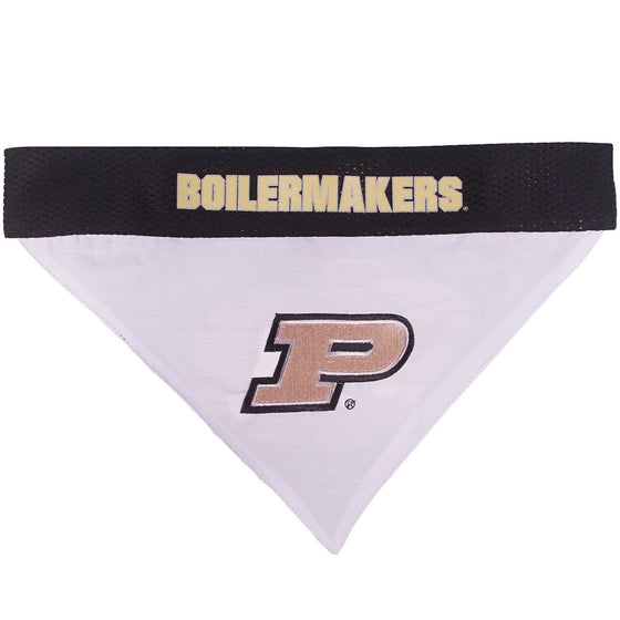 Pets First Dog-products NCAA L/XL Purdue Boilermakers Pet Reversible Bandana