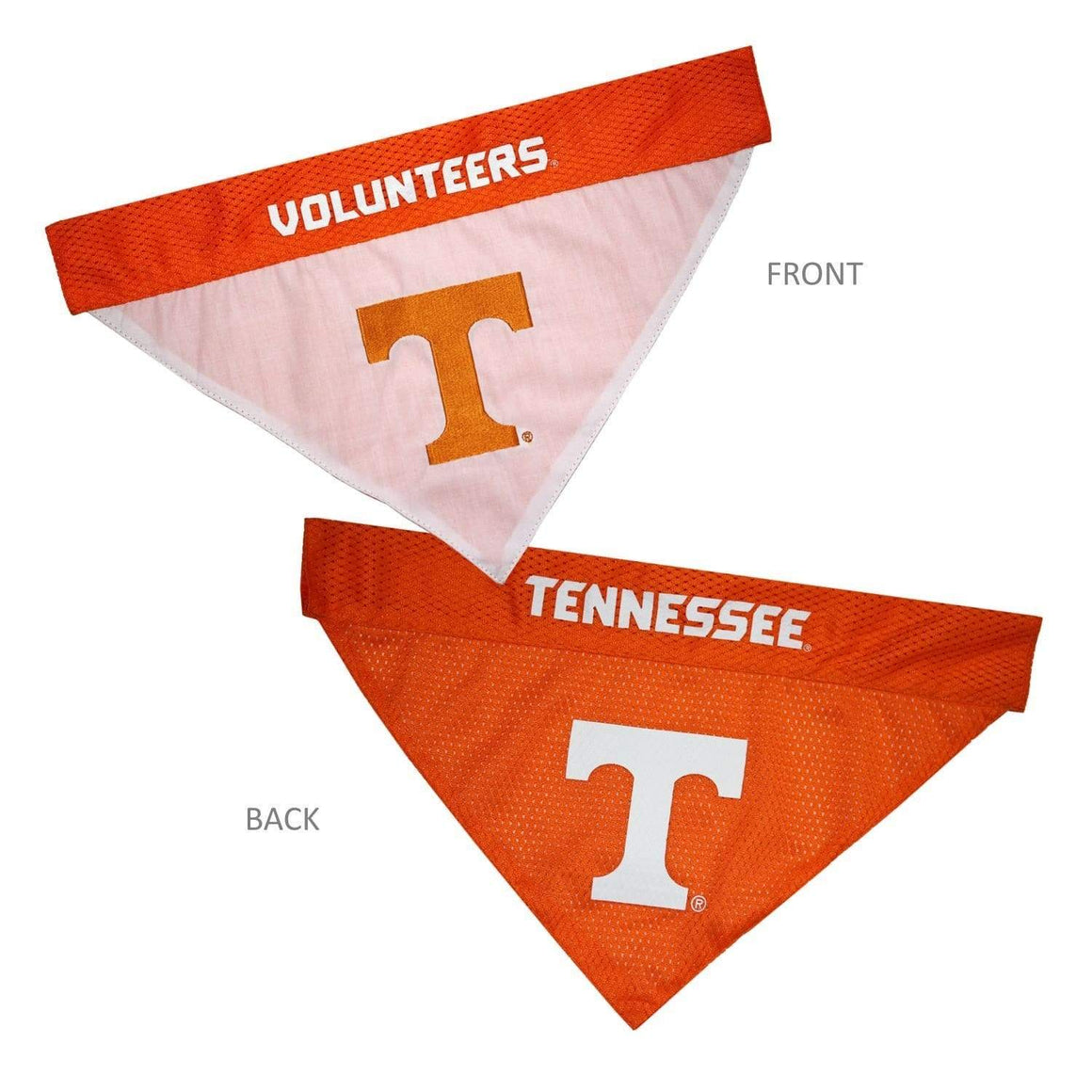Pets First Dog-products NCAA L/XL Tennessee Volunteers Pet Reversible Bandana