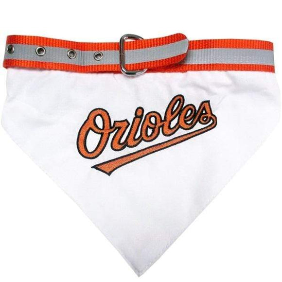 Pets First Dog-products MLB Large Baltimore Orioles Pet Collar Bandana
