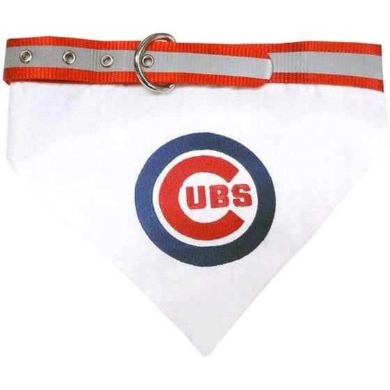 Pets First Dog-products MLB Large Chicago Cubs Pet Collar Bandana