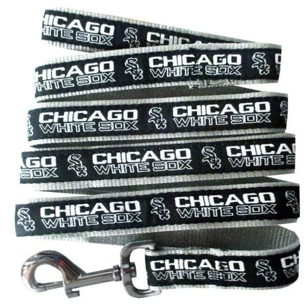 Pets First Dog-products MLB Large Chicago White Sox Pet Leash By Pets First