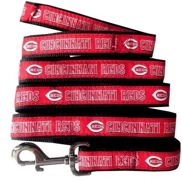 Pets First Dog-products MLB Large Cincinnati Reds Pet Leash By Pets First