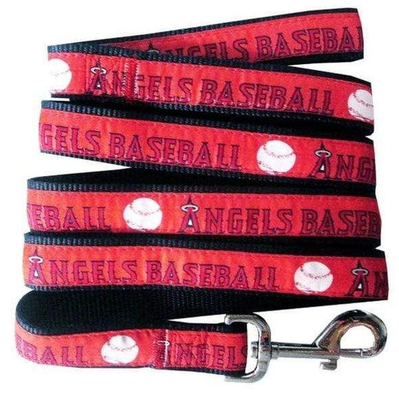 Pets First Dog-products MLB Large Los Angeles Angels Pet Leash By Pets First