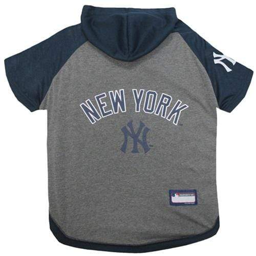 Pets First Dog-products MLB Large New York Yankees Pet Hoodie T