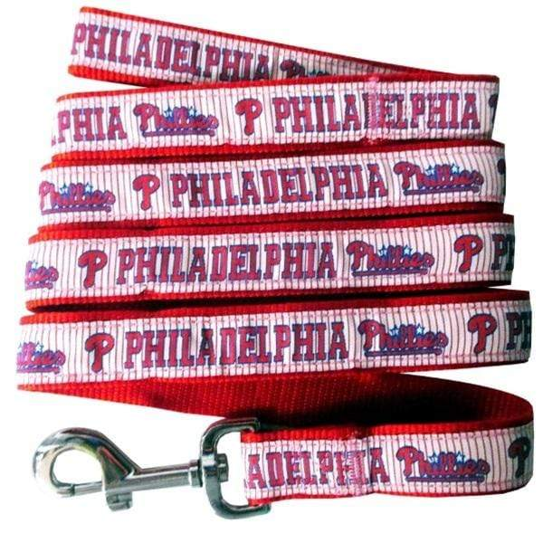 Pets First Dog-products MLB Large Philadelphia Phillies Pet Leash By Pets First