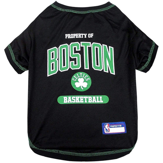 Pets First Dog-products NBA Large Boston Celtics Pet T