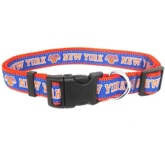 Pets First Dog-products NBA Large New York Knicks Pet Collar By Pets First